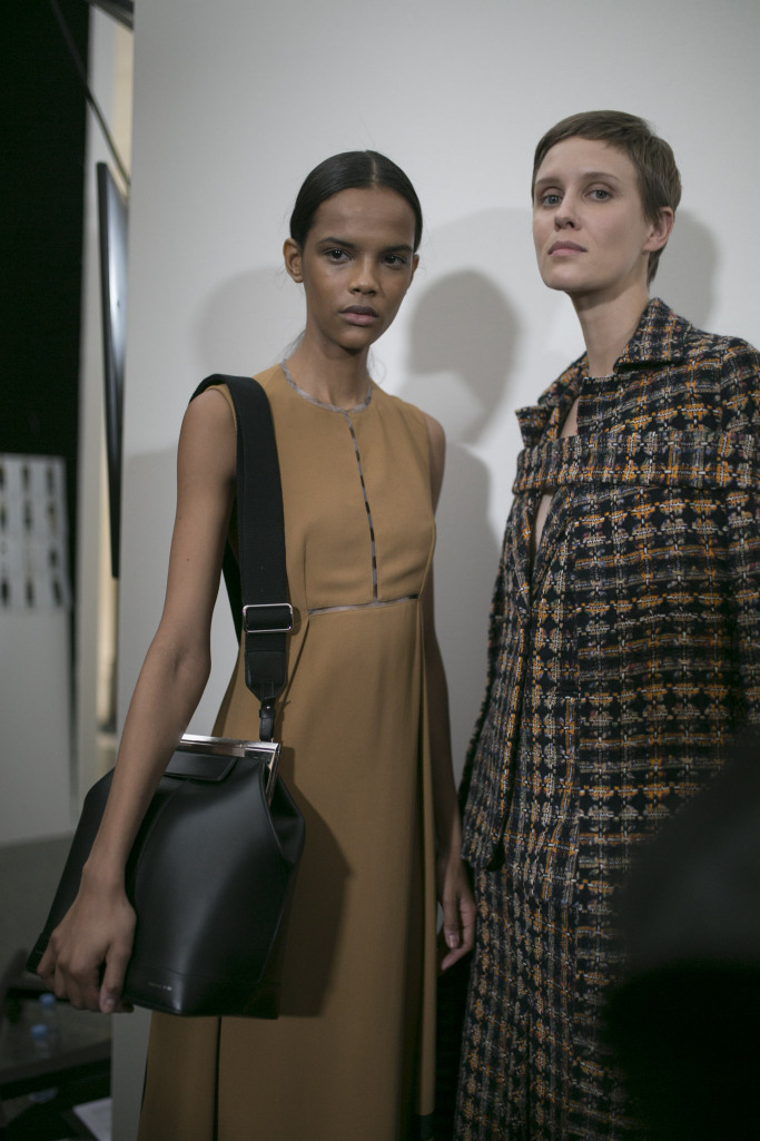 victoria beckham, fall winter 2019, clean fashion