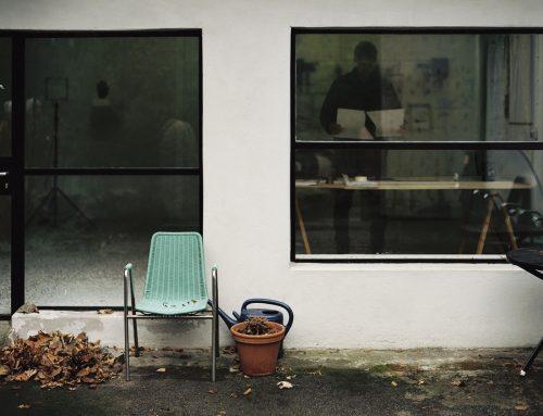 Atelier visit – Fiete Stolte