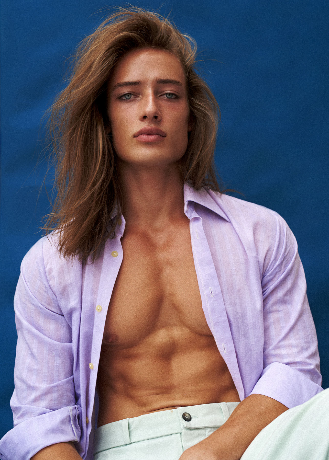 men beauty editorial