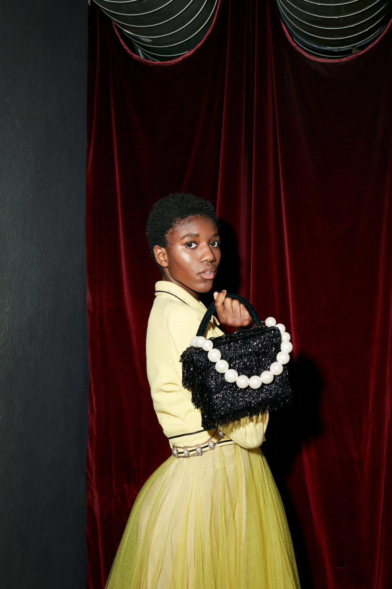 bibi Bachtadze, Chanel, silvester outfit, 2020
