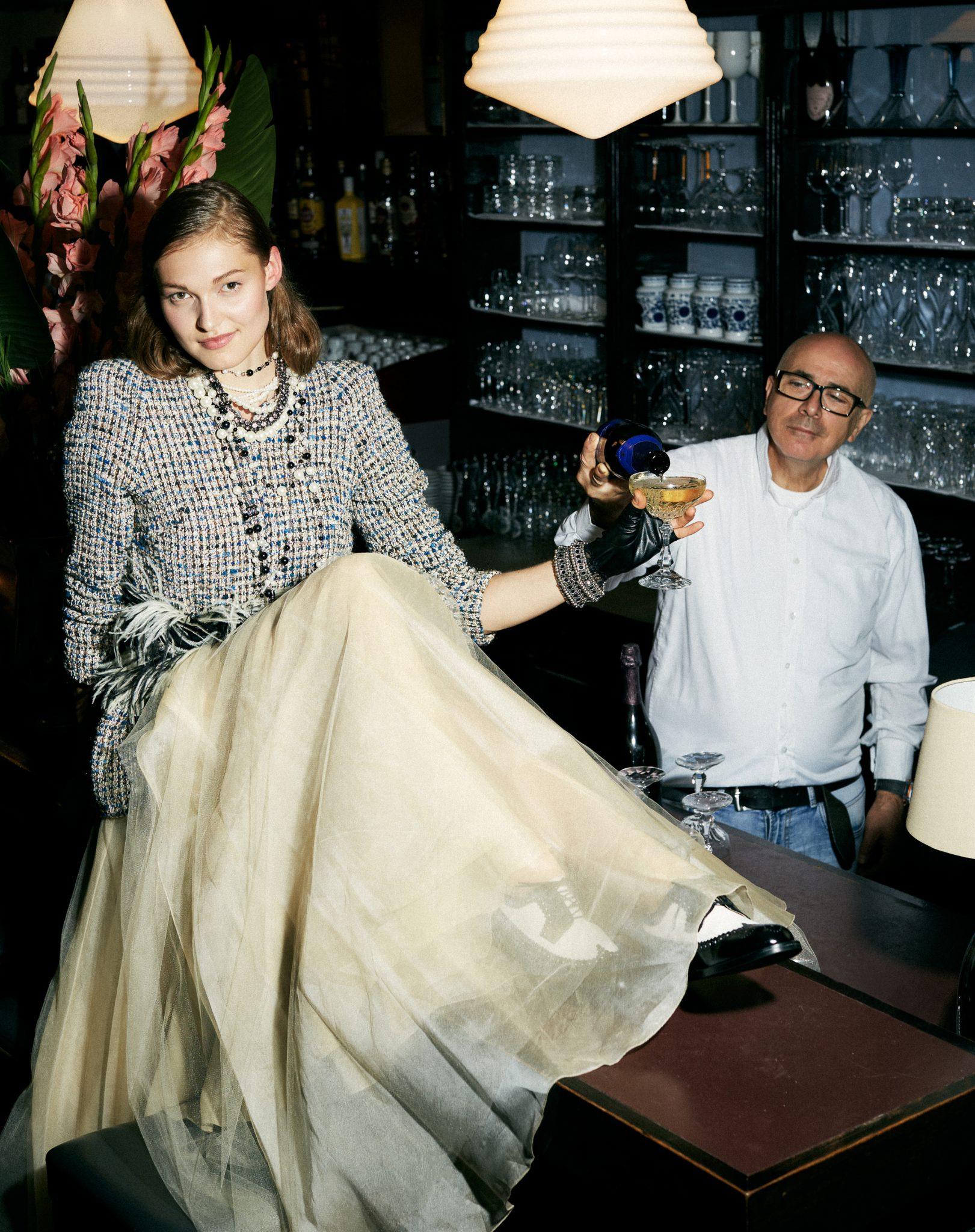 Chanel, Bibi Bachtadze, silvester outfit, Jonak