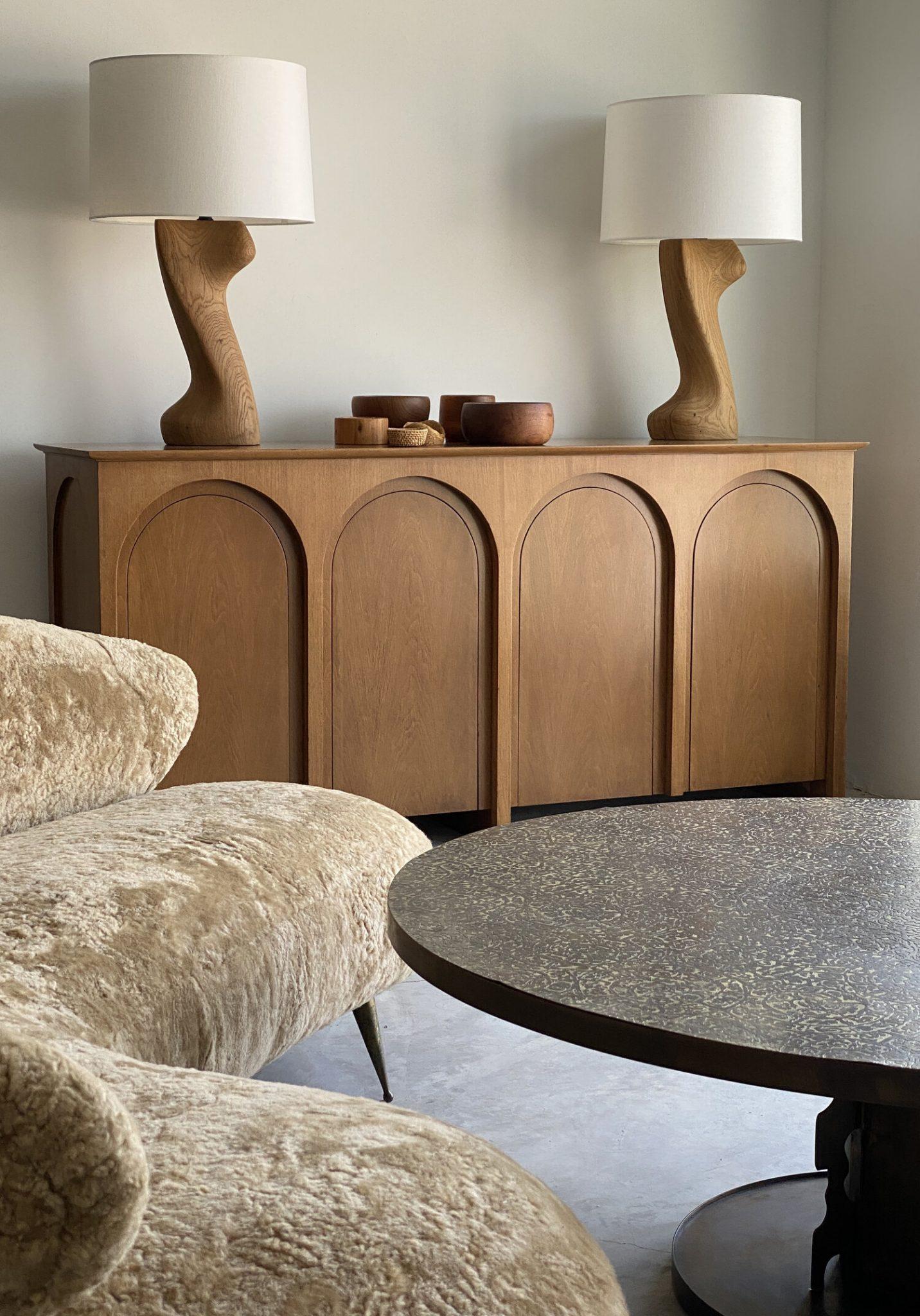Modernist furniture, curated furniture